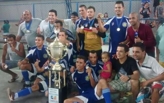 Time do Maringá se torna campeão da Copa União. Foto: Divulgação