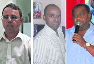 Cleber, Gilmar e Aécio concordam que a situação política ficou insustentável e que o melhor caminho é o rompimento com a administração. Foto: Arquivo TN
