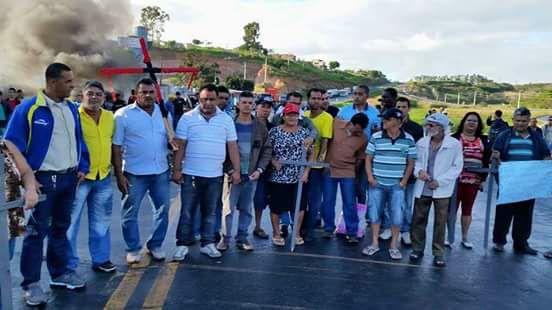 Moradores têm promovidos manifestações na BR para alertar as comunidades sobre as demandas. Foto: Divulgação