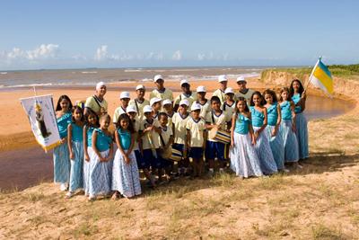 O congo mirim de Bicanga está confirmado nos festejos. Foto: Divulgação