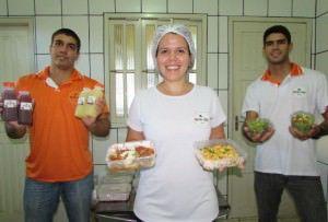 O Nutri Food oferece refeições, saladas e opções de bebidas. Foto: Fábio Barcelos