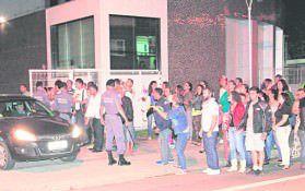 Manifestações: os servidores municipais e seus sindicatos conduziram protestos contra a proposta de reajuste formulada pelo poder Executivo. Foto: Arquivo TN