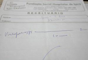 Se aprovada a indicação, as receitas terão de ser digitadas ou escritas com letras de forma. Foto: Divulgação