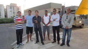 Moradores e comerciantes do bairro pedem mais policiamento. Foto: Fábio Barcelos