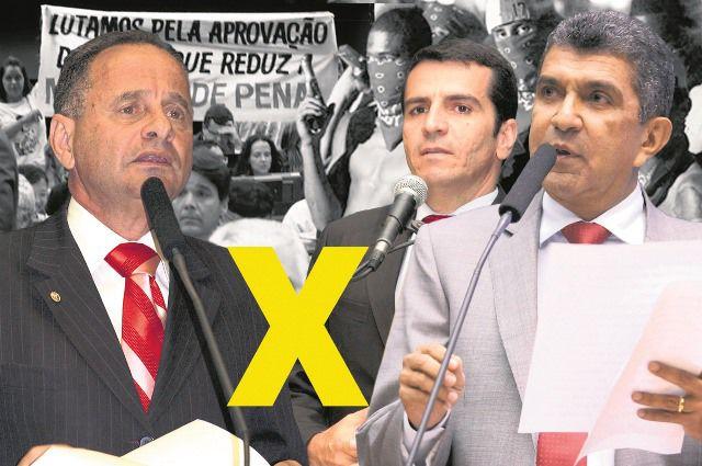 Vidigal e Givaldo votam contra redução da maioridade penal