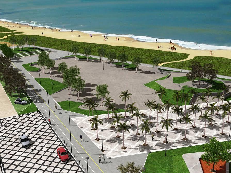 Perspectiva de como  ficará a obra depois da Urbanização. Foto: Divulgação / PMS