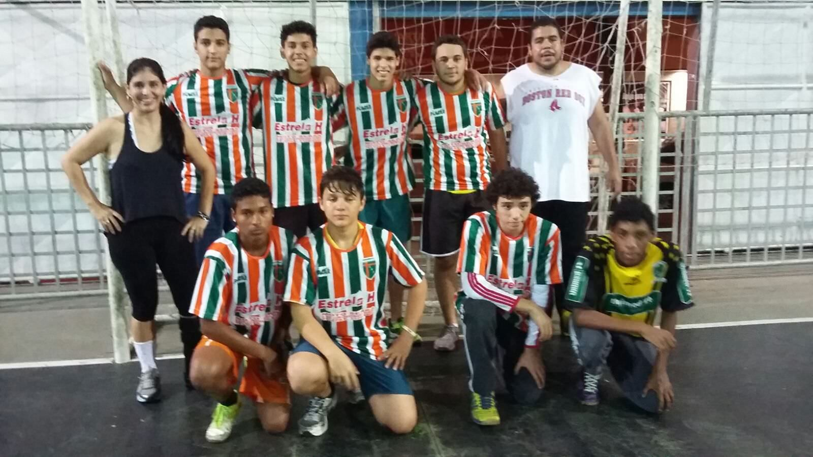 O time juvenil vai treinar bastante no comando do professor Hebinho. Foto: Divulgação