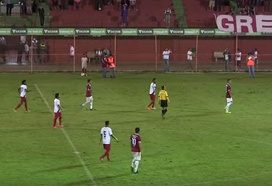 Desportiva e Real Noroeste ficaram no empate por 1x1. Foto: Divulgação
