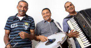 Uma das atrações da festa é o Trio Forrozão. Foto: Divulgação