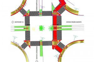 O trecho irá passar por melhorias de geometria, com adequação no cruzamento principal do bairro. Foto: Divulgação