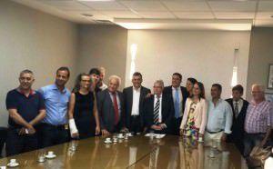 A reunião aconteceu na tarde desta terça-feira (22), em Vitória