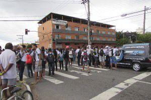 A última manifestação dos moradores aconteceu no ano passado, em setembro. Foto: Arquivo TN
