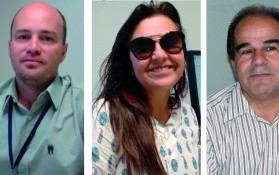 Fioroti, Madalena e Maza: redução de três para um mês na legalização de obras. Foto: Divulgação