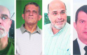 rondon, Bahiense, Firme e Recco são convergentes quando o assunto é uma trégua entre o prefeito e o ex-prefeito. Foto: Divulgação