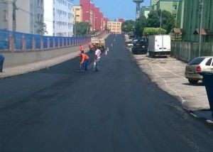 Ao todo serão recapeados 1,4 km de vias no bairro. Foto: Divulgação