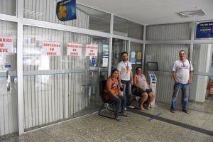 O número de agências que estão aderindo a greve está aumentando. Foto: Divulgação Sindibancários/Pedro Júnior