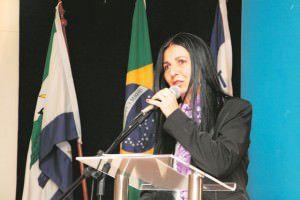 Neidia Maura assumiu a presidência da Câmara no início de 2015. Foto: Divulgação