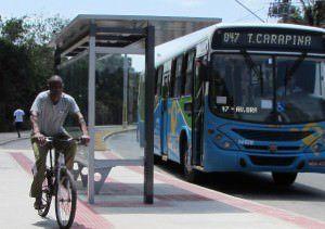 O problema aconteceu em Cidade Continental, no setor América. Foto: Fábio Barcelos