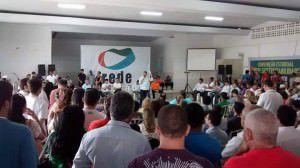 A convenção da Rede aconteceu neste domingo (25). Foto: Divulgação