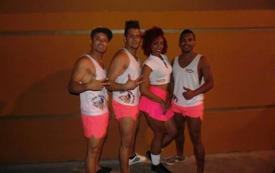 O Swing  Muleky é formado por integrantes que moram na Serra. Foto: Divulgação