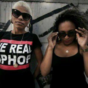 Uma das atrações do Labor@rte é a dupla de rap Preta Roots. Foto: Divulgação