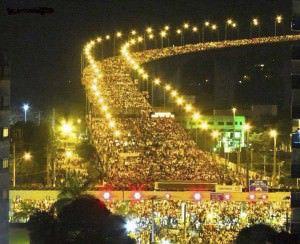 A Corrida das Luzes acontece no dia 28 e sua largada será no Parque da Prainha, em Vila Velha. Foto: Divulgação