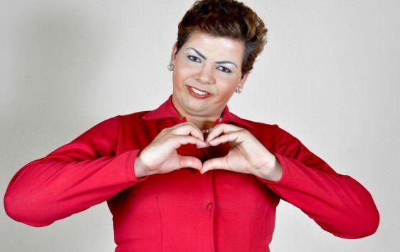 O comediante  é conhecido por interpretar o personagem que satiriza a presidente Dilma Rousseff. Foto: Divulgação