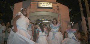 A festa acontece na igreja de Sant'Anna que fica na entrada da vila de pescadores. Foto: Arquivo TN