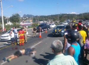Motociclista morre após acidente na BR-101