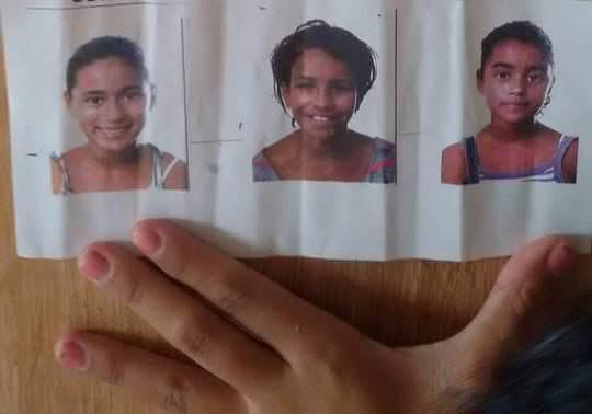 Carlos Pereira Santos, pai de Raquiele Ruela Souza Pereira, de 11 anos e Tayna Ruela Souza, de 10 anos, e tio de Jéssica Santana Souza, de 12 anos. Foto: Divulgação