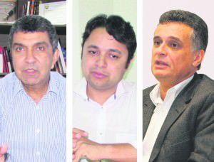 Para Vandinho (ao centro) a população quer um modelo de gestão diferente dos últimos 20 anos onde a cidade foi comandada por Sérgio Vidigal e Audifax Barcelos