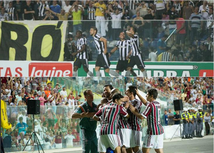 Botafogo e Fluminense, vão jogar o clássico no estado nesta quarta (24). Foto: Divulgação