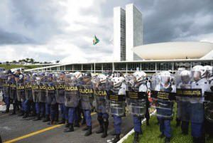 Segurança deverá estar reforçada para impedir confrontos. Foto: Divulgação Agência Brasil