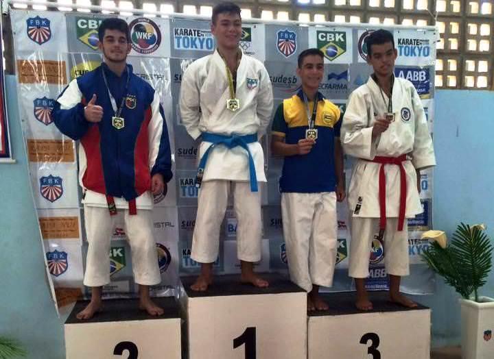 Bruno Conde, conseguiu dois ouro e uma prata em Salvador. Foto: Divulgação