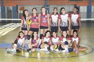 O time Sesi Laranjeiras é formada por dezoito jogadoras que já conquistaram diversos títulos em competições estaduais. Foto: Edson Reis