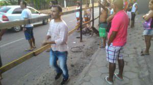 O atropelamento aconteceu no último domingo (24) e causou comoção nas redes sociais por conta. Foto: Divulgação Facebook