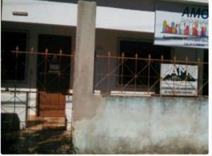 A sede da Fams encontrava-se fechada na manhã desta segunda-feira (16). Foto: Leitor TN