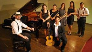O grupo Brasileiríssimo vai apresentar releituras de sucessos da música popular brasileira. Foto: Divulgação