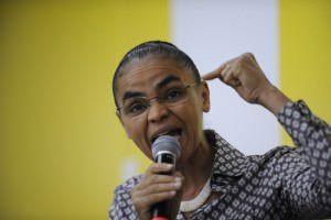 Marina Silva nega as acusações de caixa dois em sua campanha à presidente em 2010.  Foto: Agência Brasil