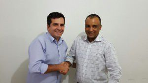 O PT confirmou Givaldo Vieira e Silvio Leite (PMB) na vice. Foto: Divulgação