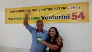 Venturini representará o PPL, ao lado de