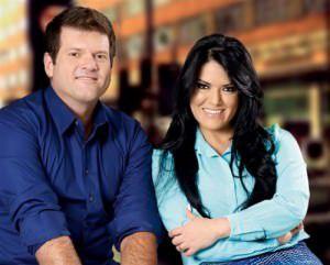 A dupla carioca Rayssa e Ravel é a atração da festa no sábado. Foto: Divulgação