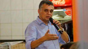 O prefeito Audifax reclamou dos vereadores aliados do deputado federal Sérgio Vidigal. Foto: Reprodução Facebook