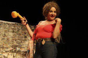 A peça 'Grace Gianoukas Recebe' será apresentada no sábado e no domingo no Teatro da Ufes. Foto: Divulgação