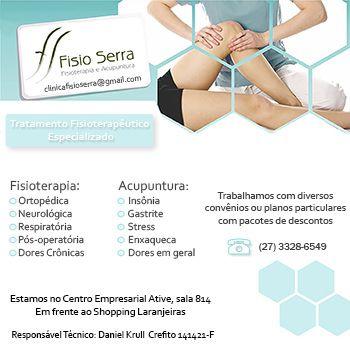 banner Fisio serra