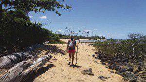 A caminhada será no sábado (20) entre Praia Grande e Nova Almeida. Foto: Divulgação