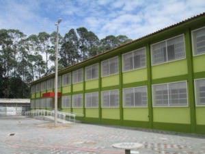 A escola fica no bairro Cidade Continental. Foto: Divulgação / Governo do ES
