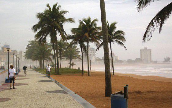 A previsão de vento forte é para o  litoral sul capixaba. Foto: Arquivo TN