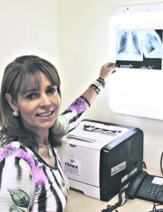 Doutora Cileia diz que é preciso boa alimentação, sono adequado, além de ambientes limpos e arejados para afastar os riscos de agravamento de doenças respiratórias. Foto: Divulgação