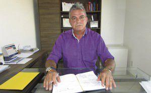 Nicodemos Venturini  é auditor fiscal da Prefeitura da Serra, e diz que é a 'terceira via' nas eleições de outubro. Foto: Fábio Barcelos